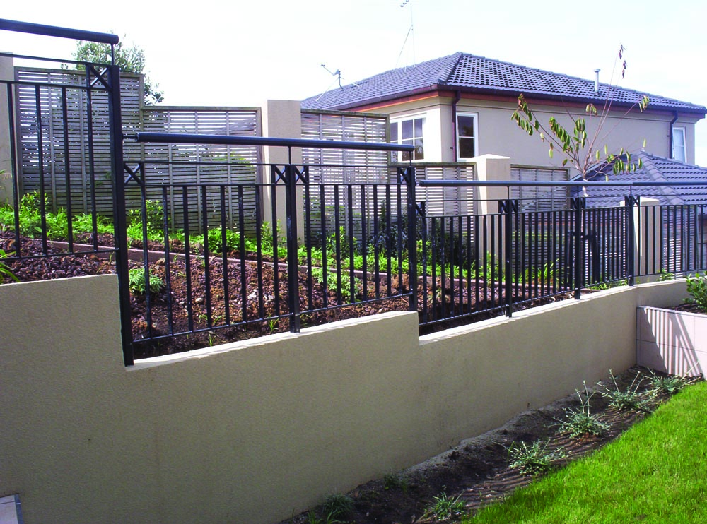 Boundary fence systems gates residential security