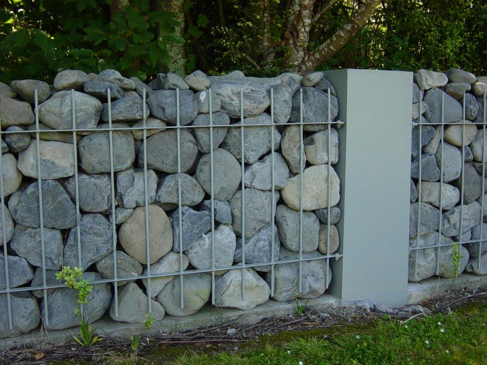 Gabion Rock Baskets Amp Secure Rock Wall Fences Rock Basket